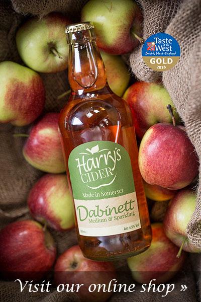 Harrys Cider Dabinett Shop